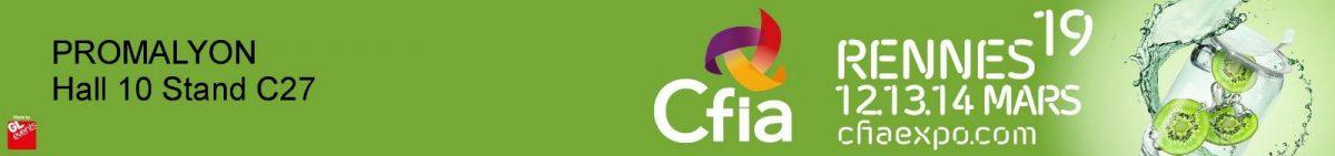 PROMALYON au CFIA 2019 – Rennes – du 12 au 14 Mars