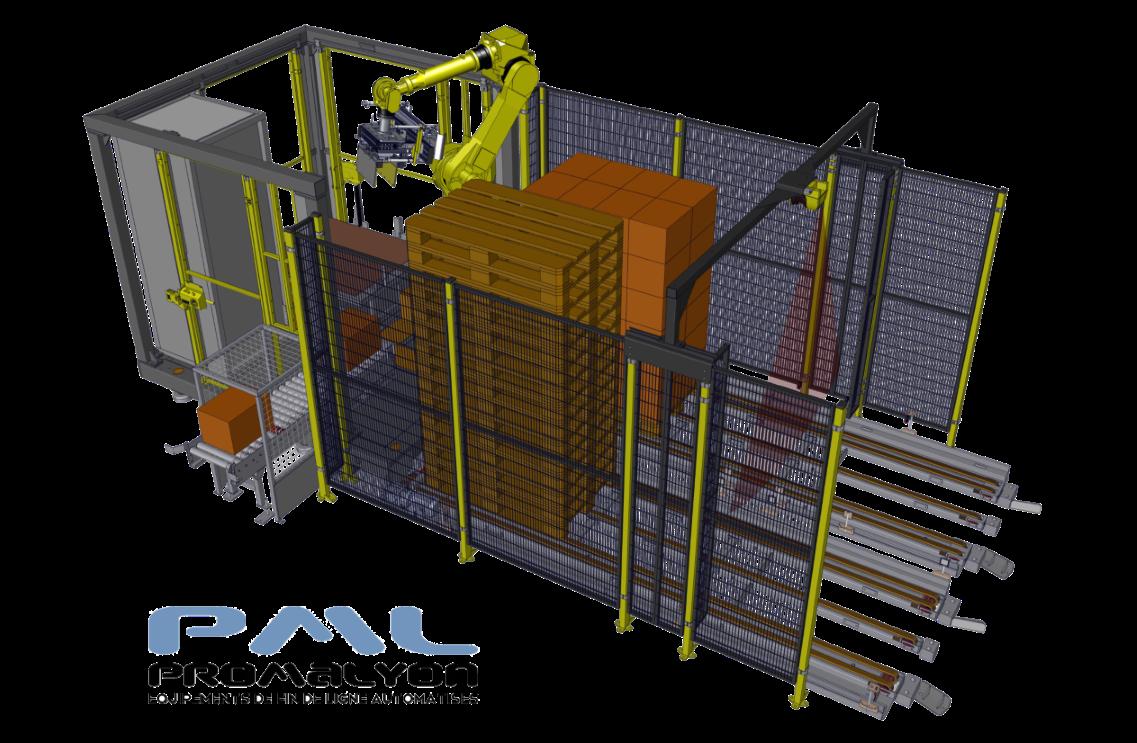 Robot de palettisation compact PALBOX®