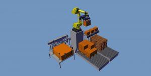 Robot de palettisation monoligne Easypal®