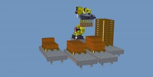 Robot de palettisation multilignes Multipal®
