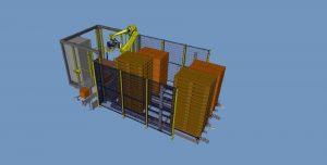 Palbox® Robot de Palettisation Compact