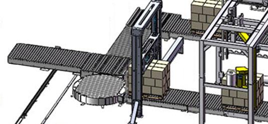 Palettisation Robotisée par Promalyon