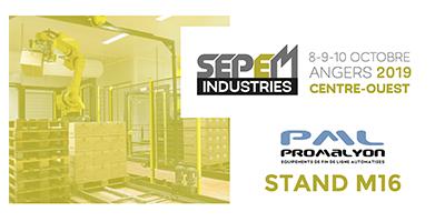 Promalyon à SEPEM Industries 2019 Angers Centre Ouest